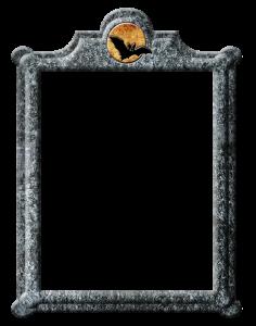 Halloween frame freebie