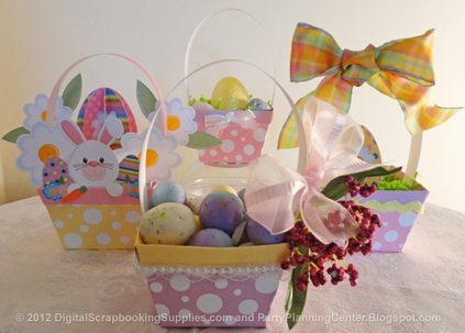 Sample Easter baskets