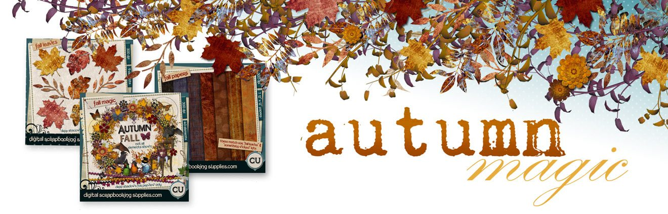 Home page Fall scrapbooking image