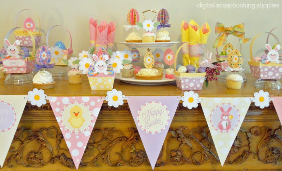Easter printables kit